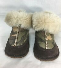 UGG Australia Boo Camo Boot 3125 Small 100% Authentic Discontinued w Box Size 4