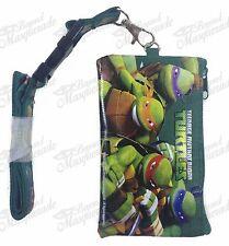 Ninja Turtle TMNT ID Holder Lanyards Detachable Coin Purse - Green