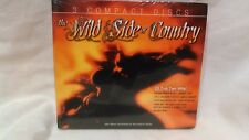 Raro The Wild Side Of Country 3 Compact Discos 23 Top Ten Hits! Cd4122b
