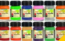 Marabu Easy Marble Effects Paint Glass Wood & more 15ml Colors ~ PICK YOUR COLOR