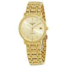 Longines Presence Automatic Gold Dial Ladies Watch L48212328