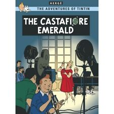 Postal del álbum de Tintín: The Castafiore Emerald 34089 (10x15cm)
