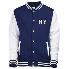College Jacket With Professional Personalised Applique Embroidery Letters