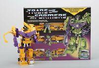 Transformers G1 Replica Giallo DEVASTATOR Natale Regalo Giocattoli Robot Toy
