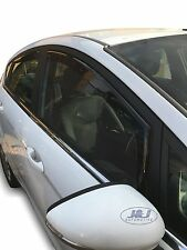 DFO15287 FORD FIESTA VII mk7 5door 2008-2017 wind deflectors 4pc set TINTED HEKO