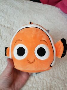 "Squishmallow 5"" Nemo Fish Disney Plush New NWT Mini Stuffed Animal Kids Toys"