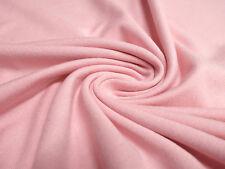 Stoff Viskose Jersey uni rosa Kleiderstoff Kinderstoff Little Darling