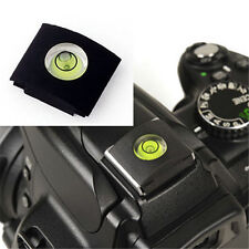 Bubble Spirit Level Hot shoe cover cap for Canon Nikon New