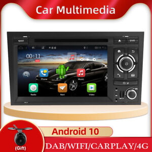 Android10.0 Car Head Unit For AUDI A4 S4 RS4 B6 B7 Stereo Radio GPS DVD DAB WIFI