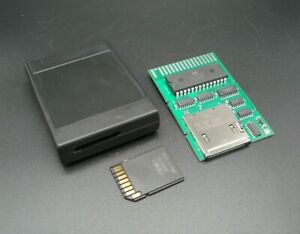 SD-Cart JR - Cartridge PCB w/ Case and SD Card - for IBM PCjr.