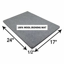 Wool Ironing Mat-Pad Made with 100% New Zealand Wool Pressing Pad Great for...