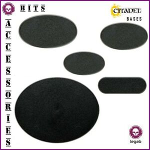 CITADEL OVAL BASES SOCLES OVALES WARHAMMER 40,000 AOS