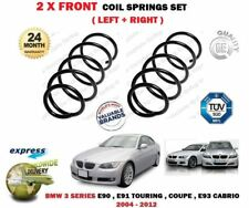FOR BMW 325i 335i 325D 330D + CABRIO 2004-2012 NEW 2X FRONT COIL SPRINGS SET