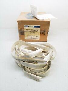 F1TZ-7820000-GP Ford Stripe Kit - Silver / Dark Red Stripes - Free Shipping