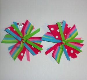 Gymboree Ice Cream Sweetie 2012 Pinwheel Ribbon Pony-O Holder, 2 Pack Set