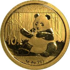 China PANDA 1g Goldmünze 0.999 Fein-Gold 2017 verschweißt !!!