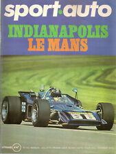 SPORT AUTO 102 1970 24H MANS INDY 500 LONDRES MEXICO GP BELGIQUE 1000KM NURBURGR