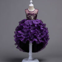 Flower Girl Dress Princess Pageant Formal Graduation Birthday Party Holiday New