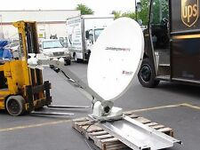 Automated Internet Satellite 1.2 meter Dish 6 watt iDirect System *USED*