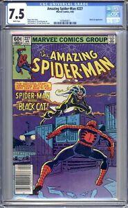 Amazing Spider-Man #227 - CGC Graded 7.5 (VF-) 1982 - Bronze Age