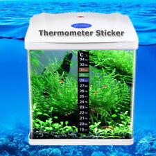 Temperature Fish Tank Sticker Aquarium Thermometer Digital Peel Easy Use AU