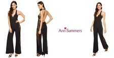 Ann Summers Elsie Jumpsuit Black Size Uk10 Brand New With Tags