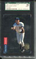 1993 SP Foil Baseball 279 Derek Jeter Rookie Card RC Graded SGC Nm MINT 8 88 '93