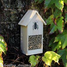 Grand Insecte Hotel En Bois Nid Maison Abeilles Jardin Pollinisation