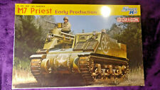 Dragon6627 1:35 M7 Priest Early Production SP Howitzer Model Kit *SEALED BAGS*