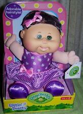 Cabbage Patch Kids Sittin' Pretty EDEN LORRAINE Adorable Hairstyle Doll