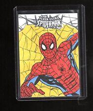 2017 Upper Deck Spiderman sketch card by Bernie Lake