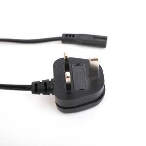 5m Figure of 8 Mains Cable / Power UK Lead Plug Cord IEC C7 Fig Laptop SKY BOX