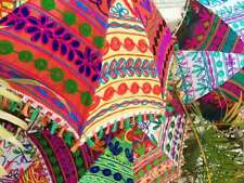 Handmade Attractive Beautiful Parasols Bridal Home-Decor 10pc Wholesale Lot