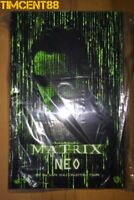 Ready! Hot Toys MMS466 The Matrix 1/6 Neo Keanu Reeves Figure