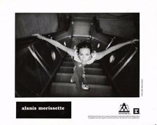 Alanis Morissette-Original Photo-On Escalator