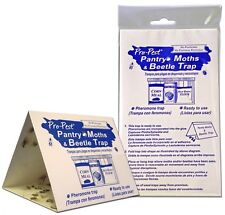 Indian Meal Moth Pantry Pest Traps 4 Pack Bird Seed Pet Food Moth Traps 4 Pack