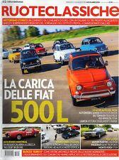 Ruoteclassiche 2018 359.Fiat 500L,Lancia Astura Stabilimenti Farina,Monteverdi