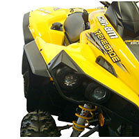 CAN AM RENEGADE ATV OVER FENDERS FLARES MUD GUARDS CUSTOM FIT CANAM BRP