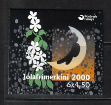 Faroe Is 2000 Christmas complete booklet--Attractive Art Topical (387a) MNH