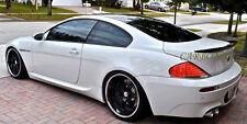 Carbon Fiber BMW 2004-2008 E63 6-series coupe Rear trunk spoiler M6 630i V Type
