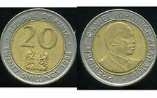KENYA   20 shillings  1998