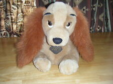 Disneys Girls Lady  from the Movie Lady & the Tramp Cocker Spaniel Plush Dog Toy