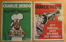 ORIGINAL Charlie HEBDO Je suis Charly Paris Erstausgabe 14.01.2015 1178 Mohamed