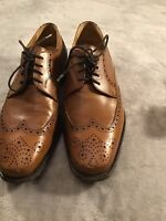Berwick 1707 Lace-up 1707 Mens Leather Brogues Goodyear Welted Frame Sewn Size 6