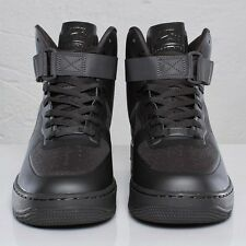 Nike Air Force 1 Hyperfuse PRM Men's Size 8 CHARCOAL MIDGHT FOG 454433-002 Rare