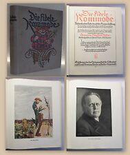 Rehm Die fidele Kommode um 1910 Humordichtung humoristische Gedichte Lyrik xy