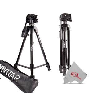 "Vivitar 62"" Tripod High Quality 8lb Capacity 3-Way Fluid Pan Head Quick Release"