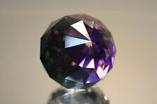 Swarovski Crystal Round Ball 60mm Paperweight 7404 NR 60 Helio Purple MINT