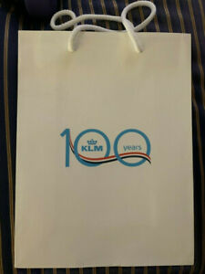 KLM Royal Dutch Airlines 100th Anniversary Gift Bag