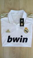 Authentic Real Madrid Shirt Season 2012-2013 Hand Signed By Cristiano Ronaldo